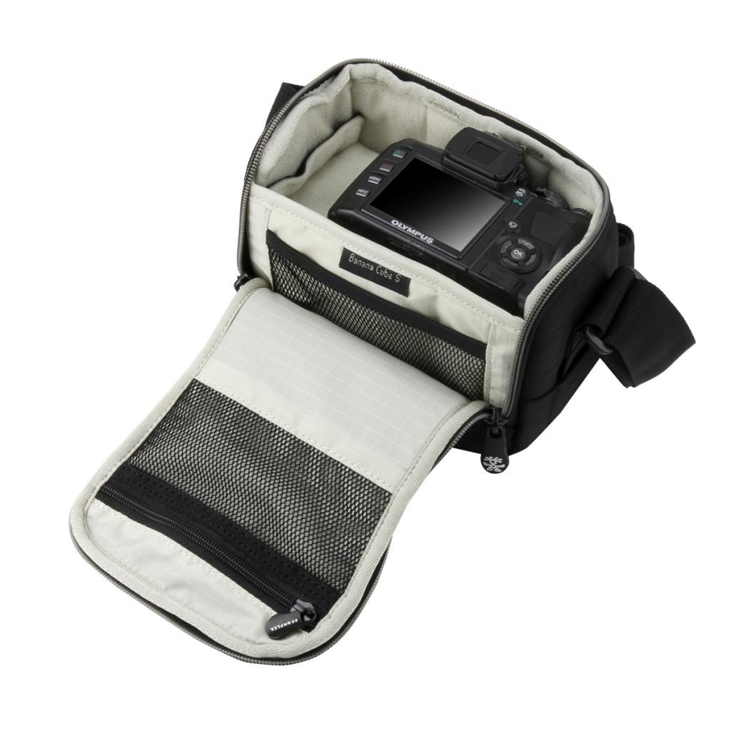Фото-сумка Crumpler Banana Cube S (Black) (BC-S-001) изображение 3