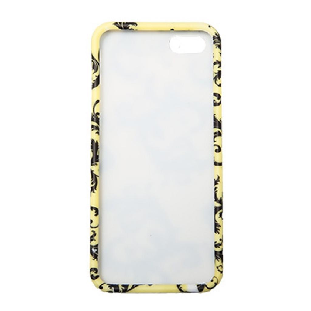 Чехол для моб. телефона Drobak для Apple Iphone 5 /Black branch/Elastic PU (210257) изображение 2