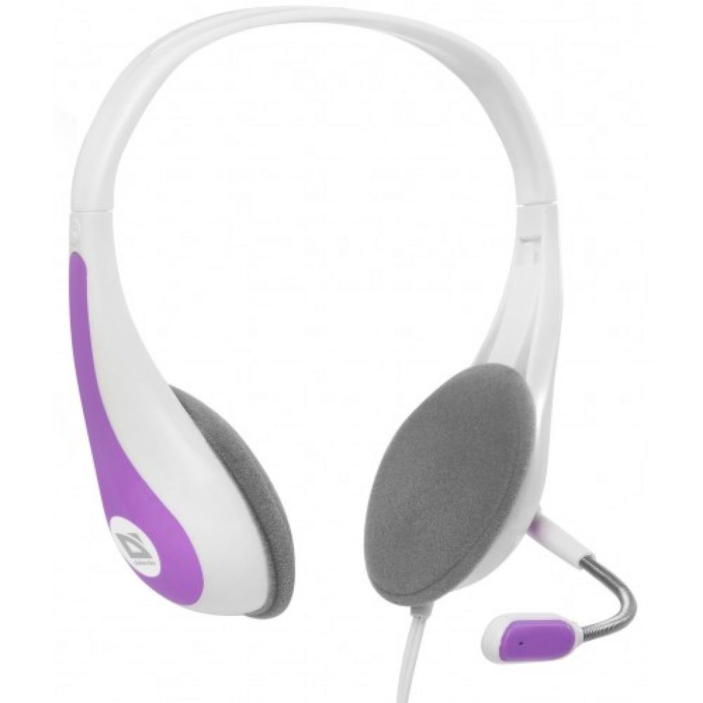 Наушники Defender Esprit HN-836 біло-рожеві (63839)