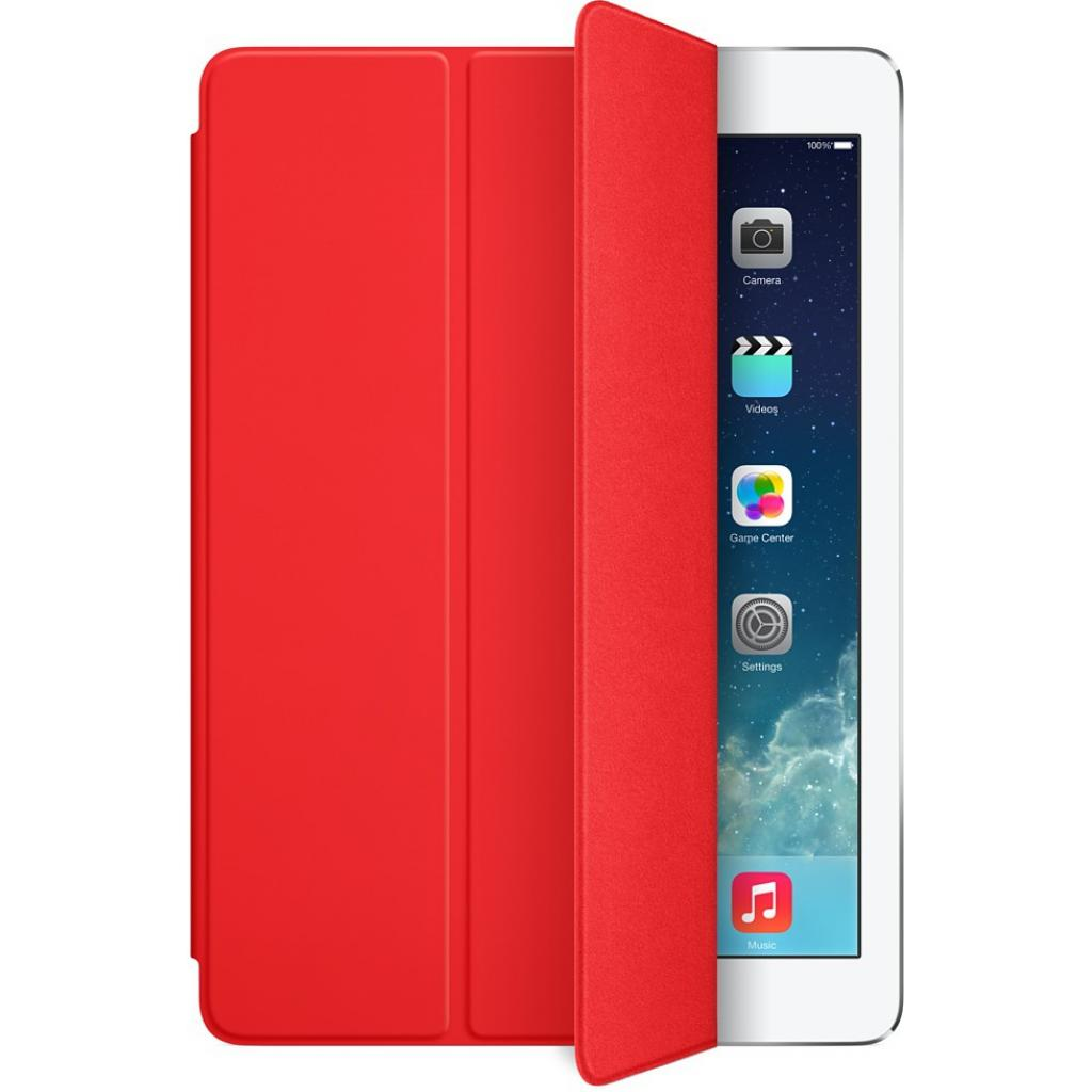 Чехол для планшета Apple Smart Cover для iPad Air (red) (MF058ZM/A)