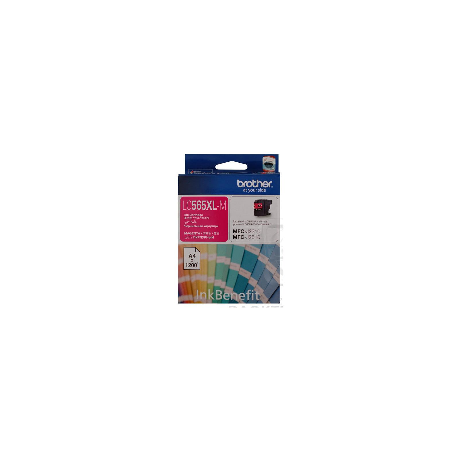 Картридж Brother MFC-J2310/J3520 XL magenta (LC565XLM)