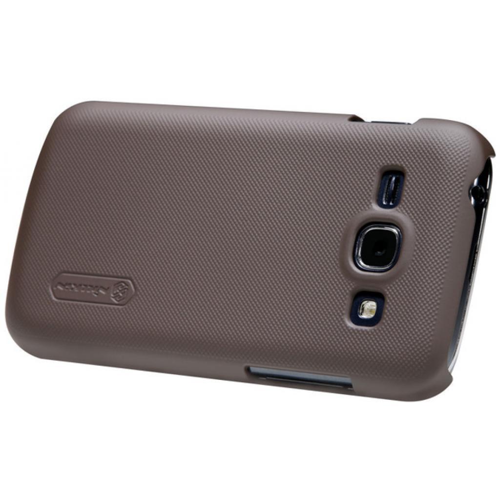Чехол для моб. телефона NILLKIN для Samsung S7272 /Super Frosted Shield/Brown (6077028) изображение 2