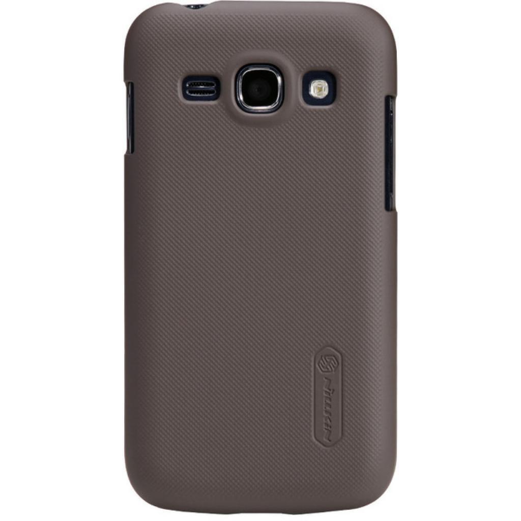 Чехол для моб. телефона NILLKIN для Samsung S7272 /Super Frosted Shield/Brown (6077028)