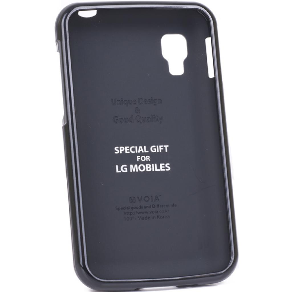 Чехол для моб. телефона VOIA для LG E445 Optimus L4II Dual /Jelly/Black (6068188)