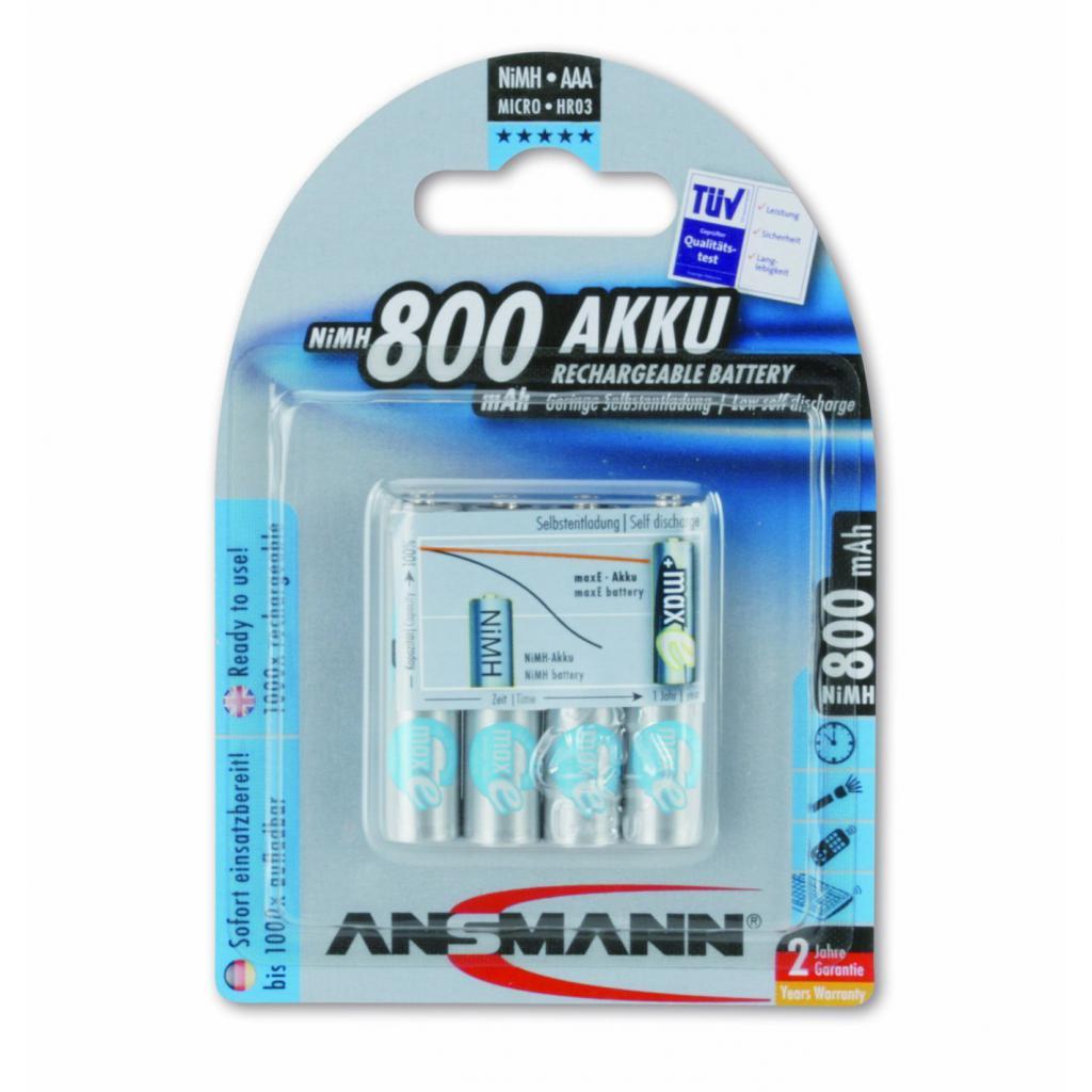 Аккумулятор Ansmann AAA R3 800mAh maxE *4 (5035042)