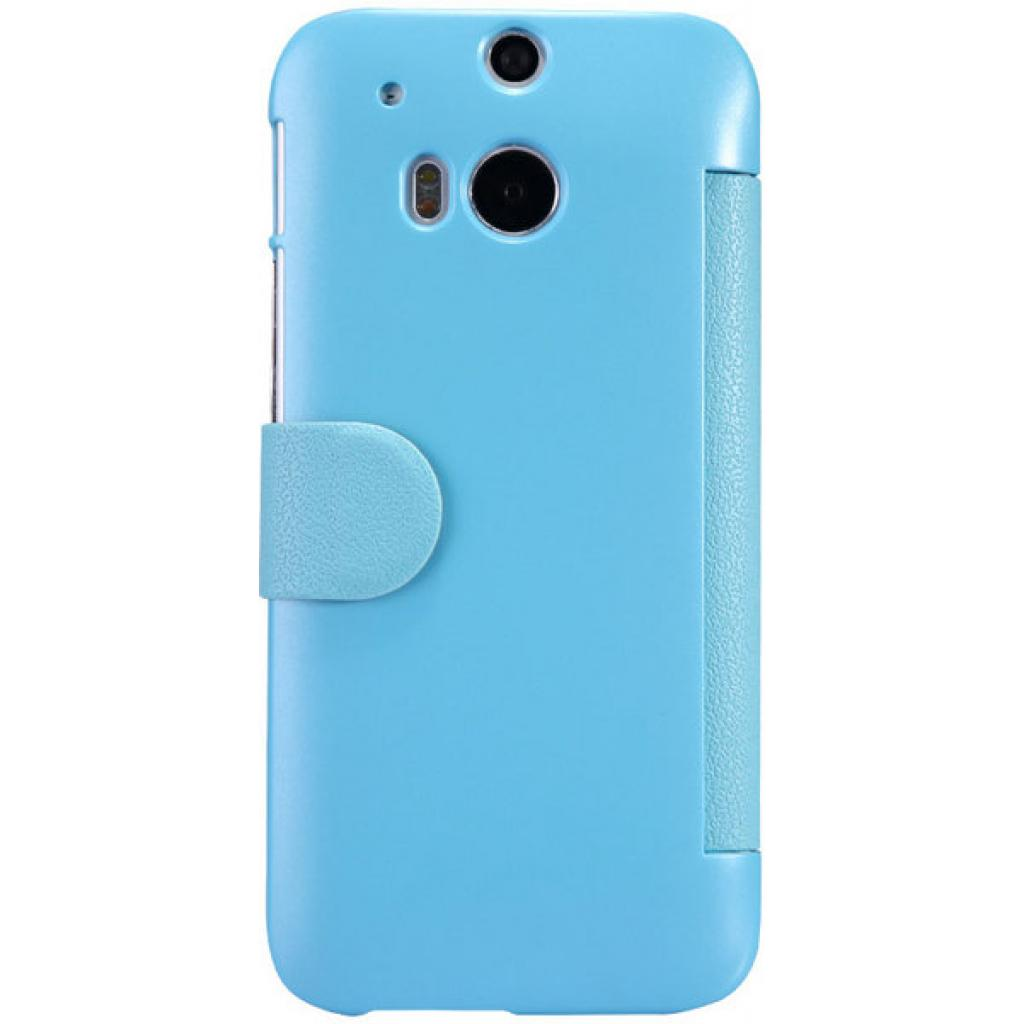 Чехол для моб. телефона для HTC ONE (M8) /Fresh Series Leather Case/Blue NILLKIN (6138237) изображение 2