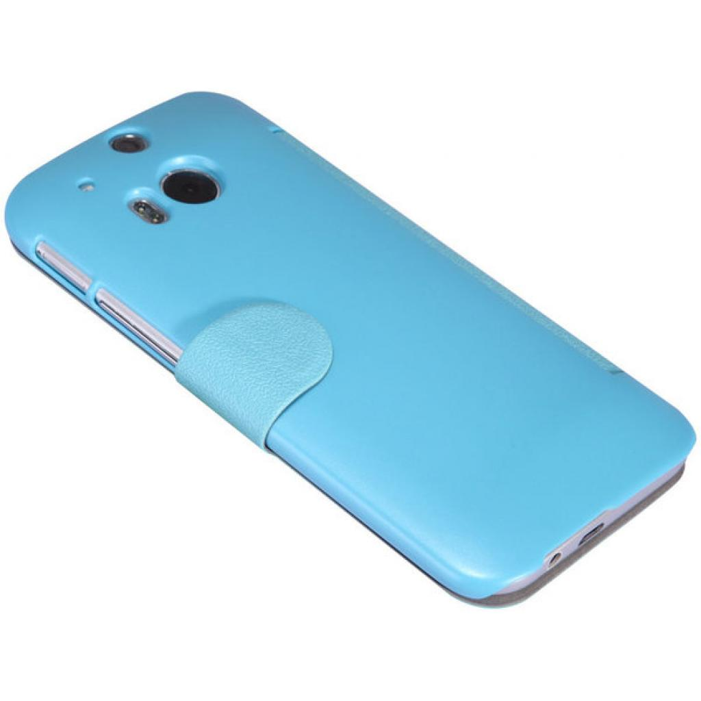 Чехол для моб. телефона для HTC ONE (M8) /Fresh Series Leather Case/Blue NILLKIN (6138237) изображение 3