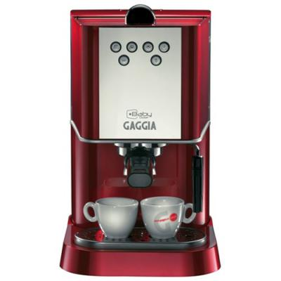 Кофеварка Gaggia New Baby Dose red изображение 5