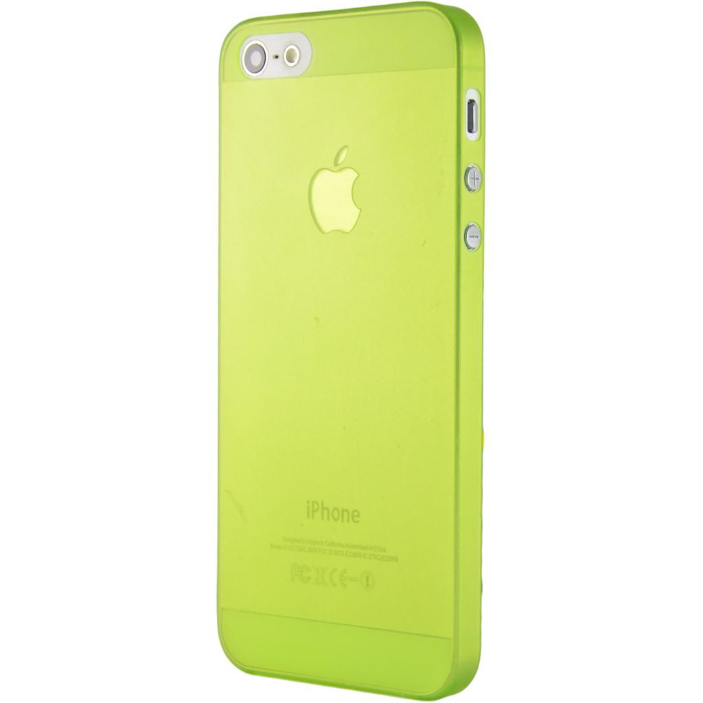 Чехол для моб. телефона Pro-case iPhone 5 ultra thin green (PCUT5SGR)