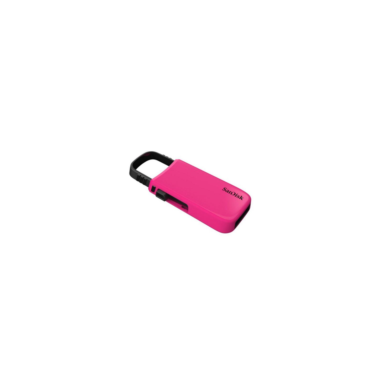 USB флеш накопитель SANDISK 32GB Cruzer U Pink USB 2.0 (SDCZ59-032G-B35PZ) изображение 2