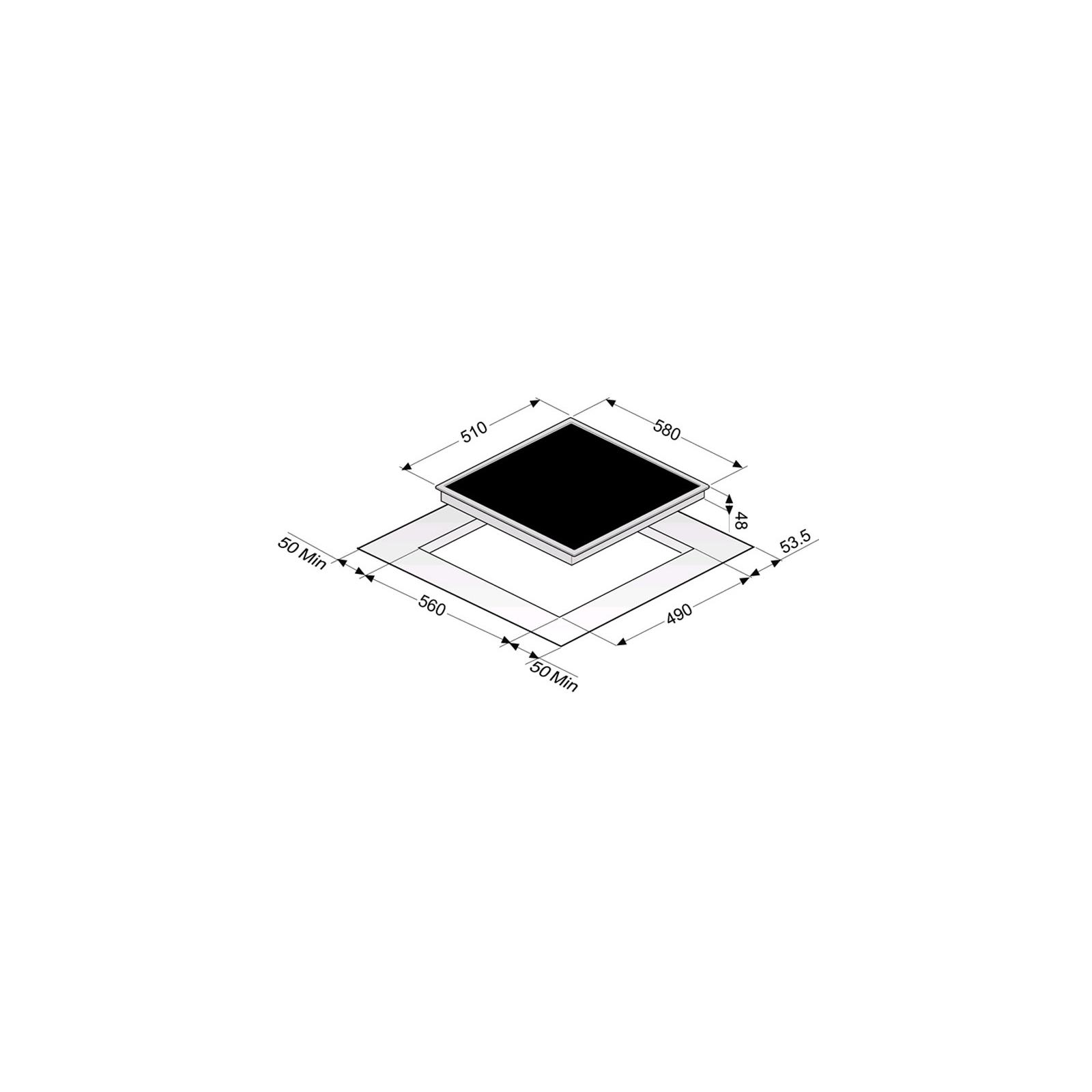 Варочная поверхность PERFELLI HVC 6110 BL изображение 2