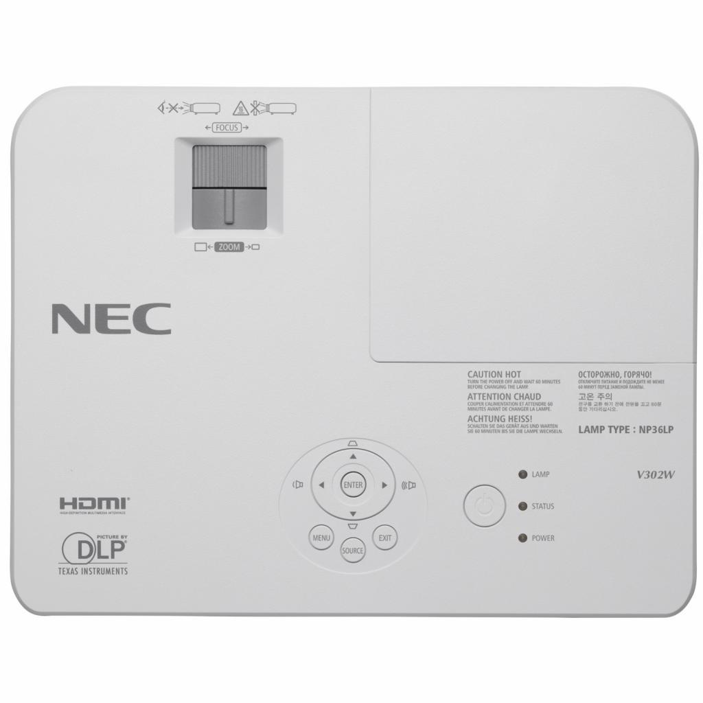 Проектор NEC V302W (60003895) изображение 4