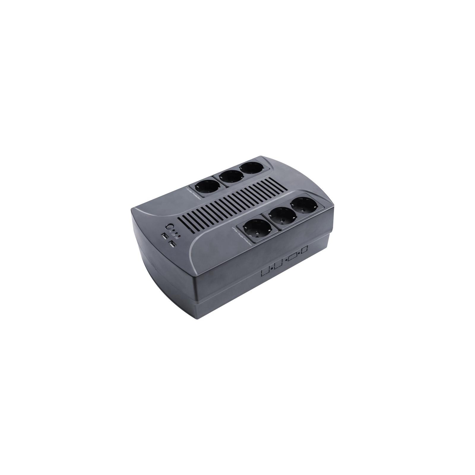 Источник бесперебойного питания LogicPower 850VA-6PS (4325)