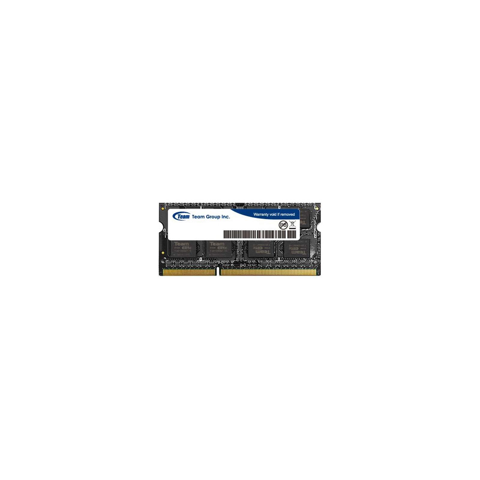 Модуль памяти для ноутбука SoDIMM DDR3 4GB 1600 MHz Team (TED3L4G1600C11-SBK)