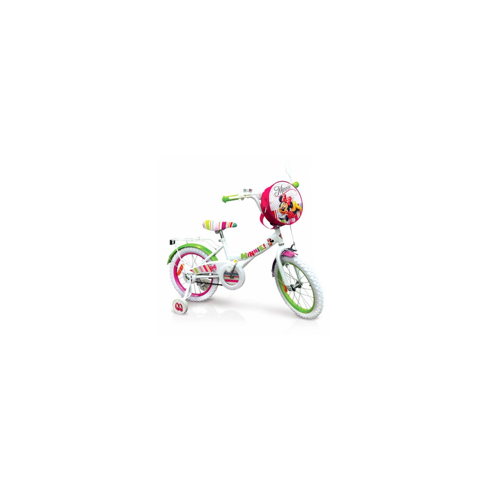 """Детский велосипед Disney 14"""" Minnie Mouse со звонком и зеркалом (M1401)"""