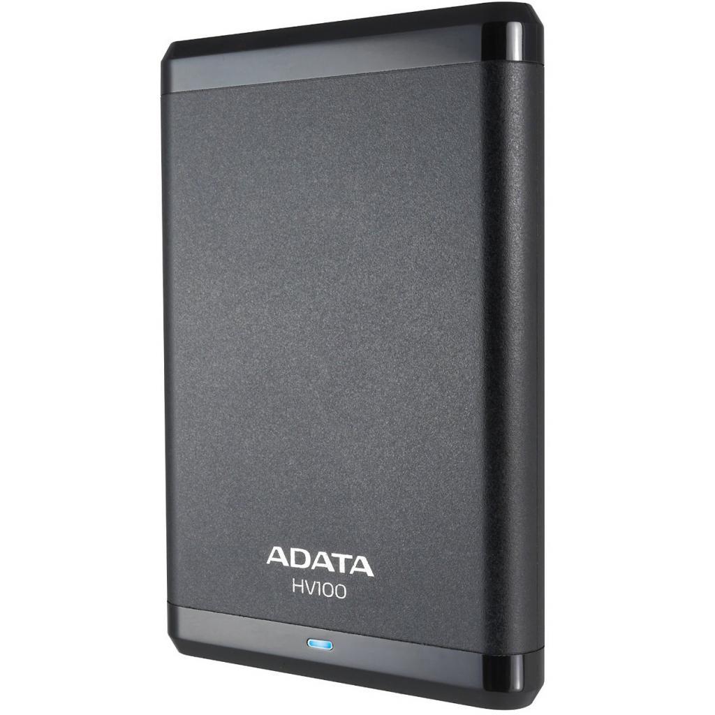 """Внешний жесткий диск 2.5"""" 500GB ADATA (AHV100-500GU3-CBK) изображение 3"""