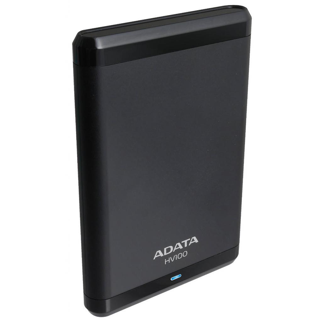 """Внешний жесткий диск 2.5"""" 500GB ADATA (AHV100-500GU3-CBK) изображение 4"""