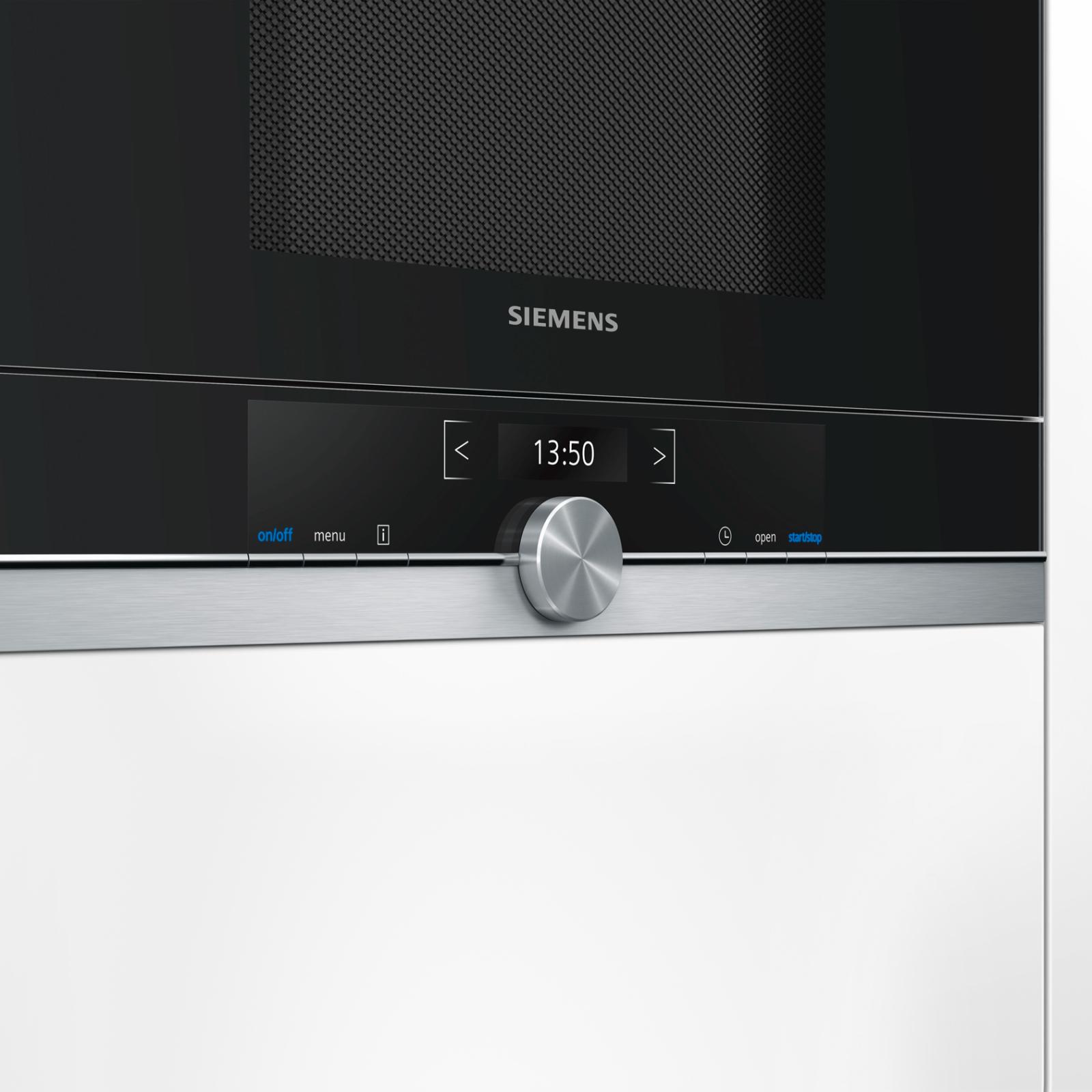 Микроволновая печь Siemens BF 634 LGS1 (BF634LGS1) изображение 2