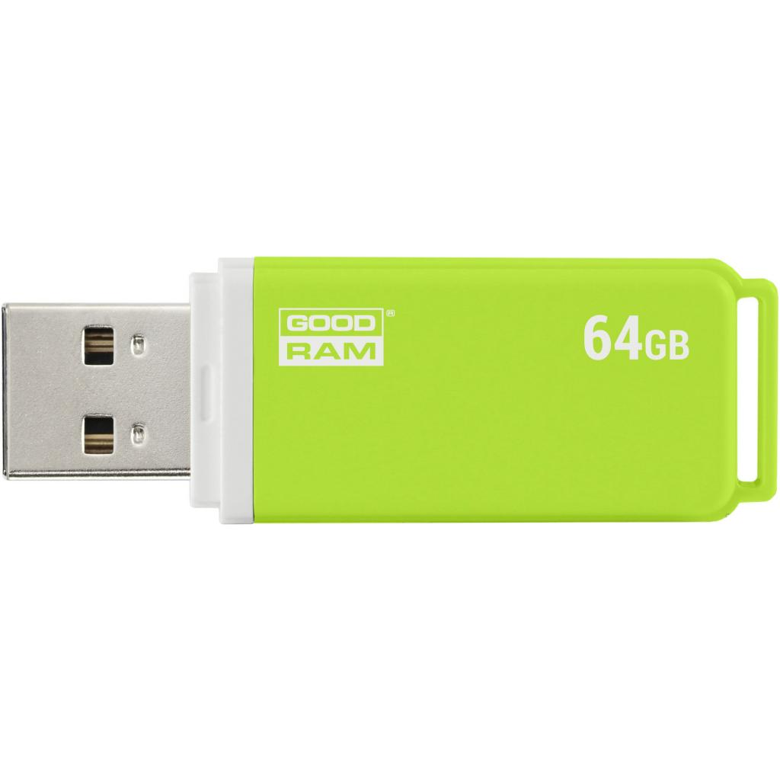 USB флеш накопитель Goodram 8GB UMO2 Green USB 2.0 (UMO2-0080G0R11) изображение 4