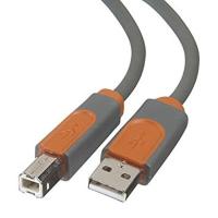 Кабель для принтера USB 2.0 AM/BM 1.8m Belkin (CU1000cp1.8M-P)