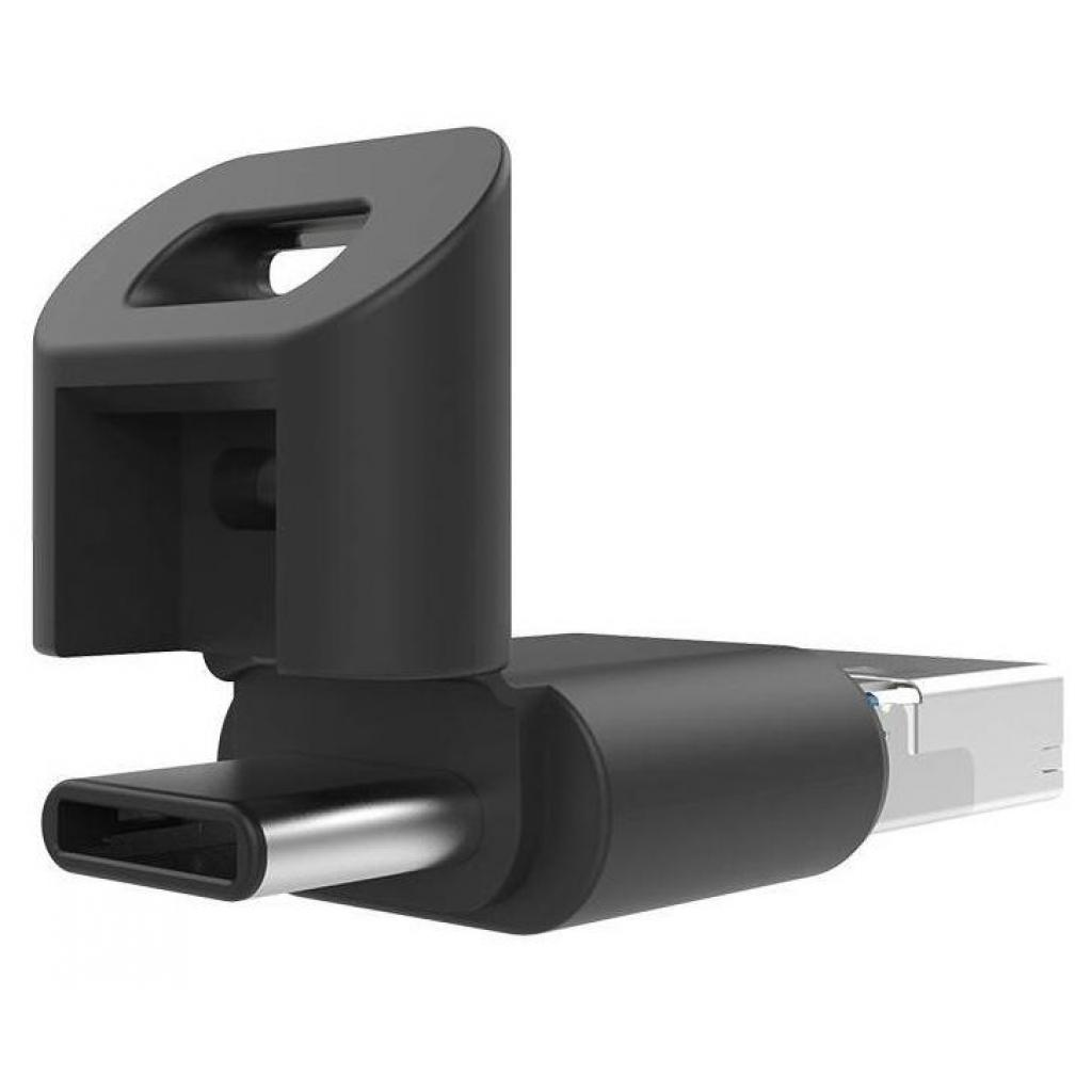 USB флеш накопитель Silicon Power 32GB Mobile C USB 3.1 / Type-C / microUSB (SP032GBUC3C50V1K) изображение 5