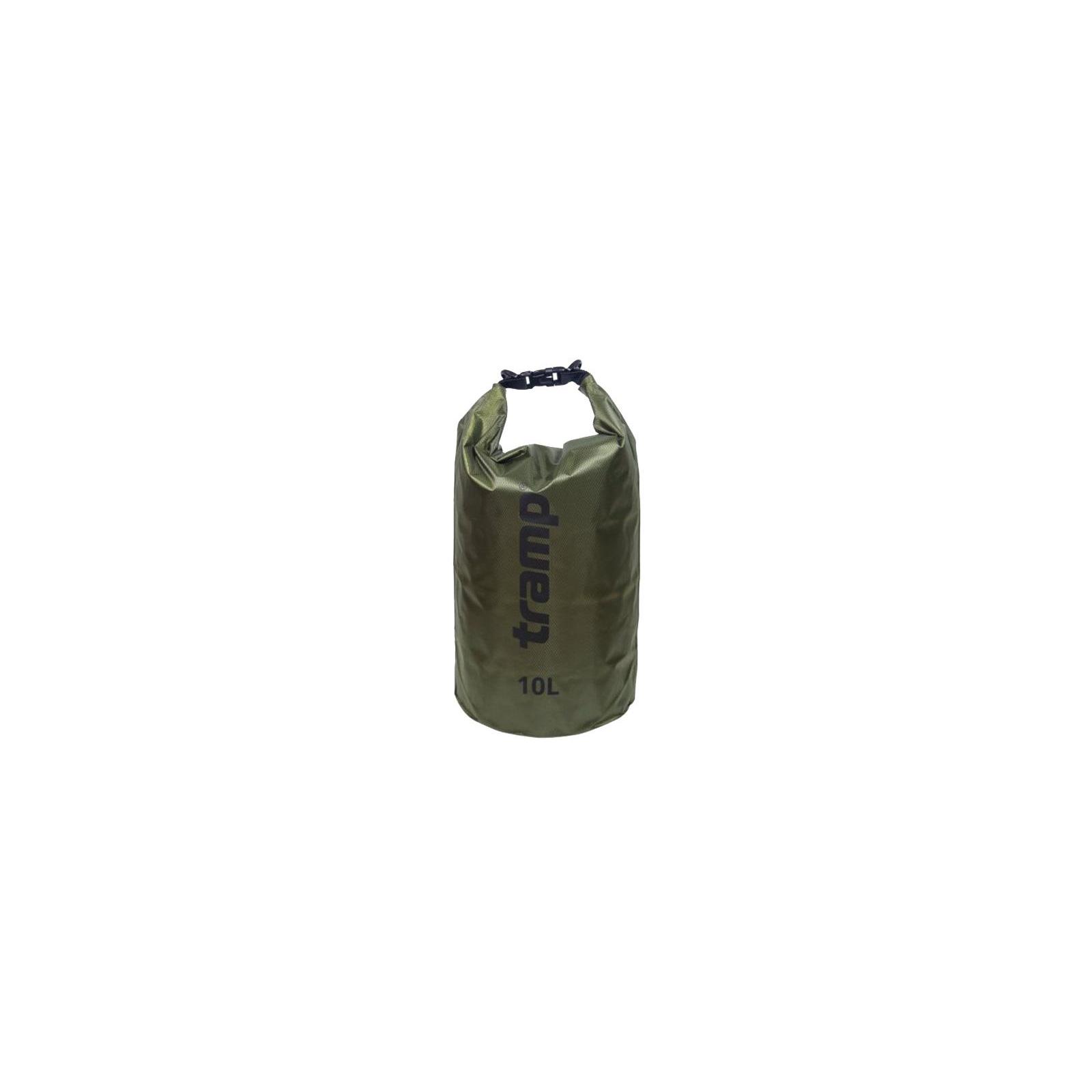Гермомешок Tramp PVC Diamond Rip-Stop оливковый 10л (TRA-111-olive)