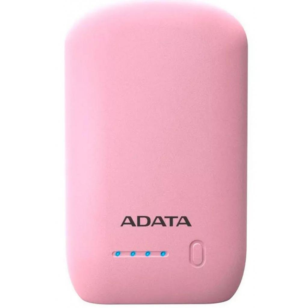 Батарея универсальная ADATA P10050 10050mAh PINK (AP10050-DUSB-5V-CPK) изображение 2
