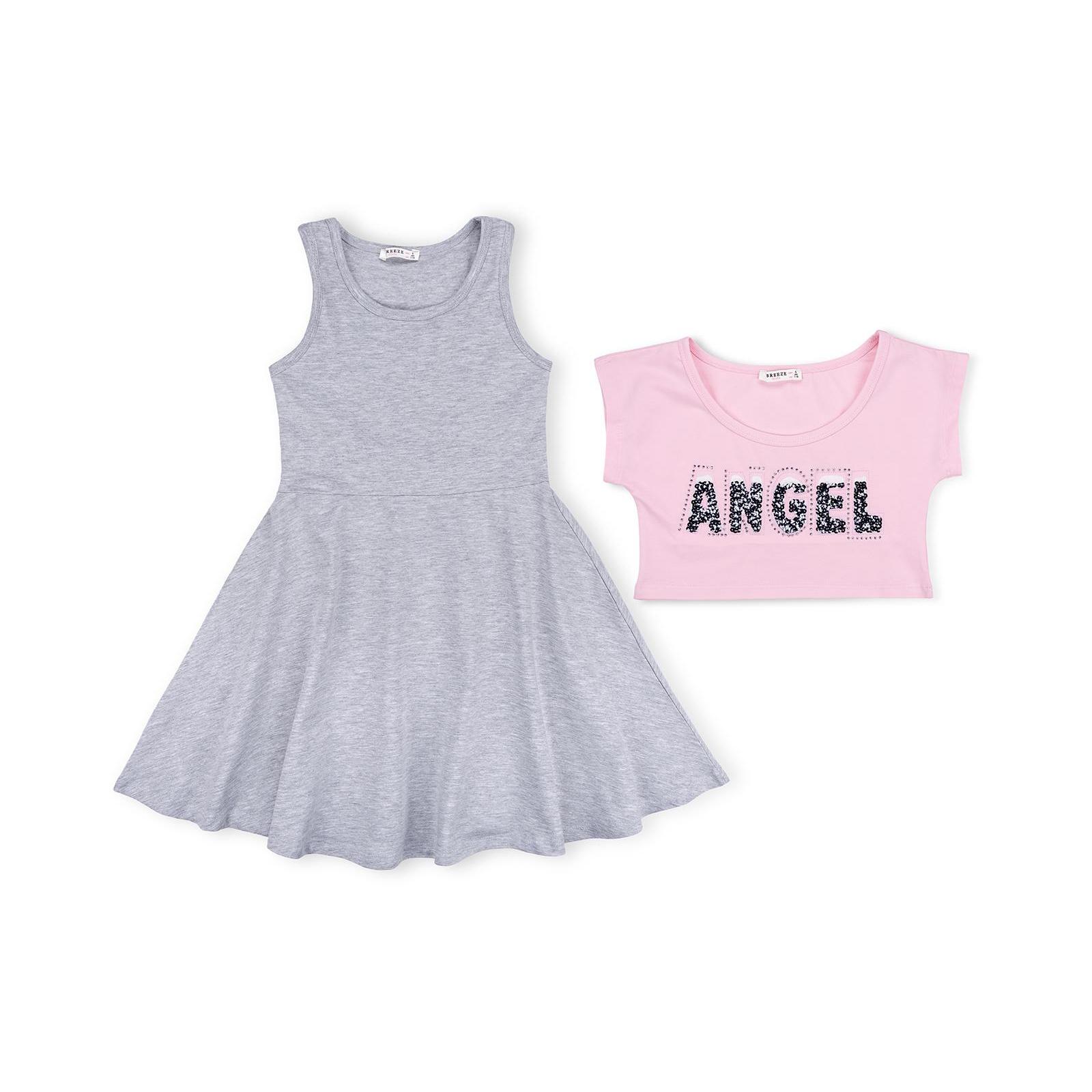 """Платье Breeze с топом """"ANGEL"""" (10254-116G-pink)"""