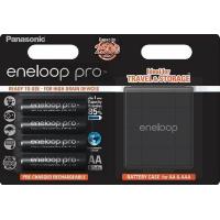 Аккумулятор PANASONIC Eneloop Pro AA 2500 mAh * 4 + Case (BK-3HCDEC4BE)