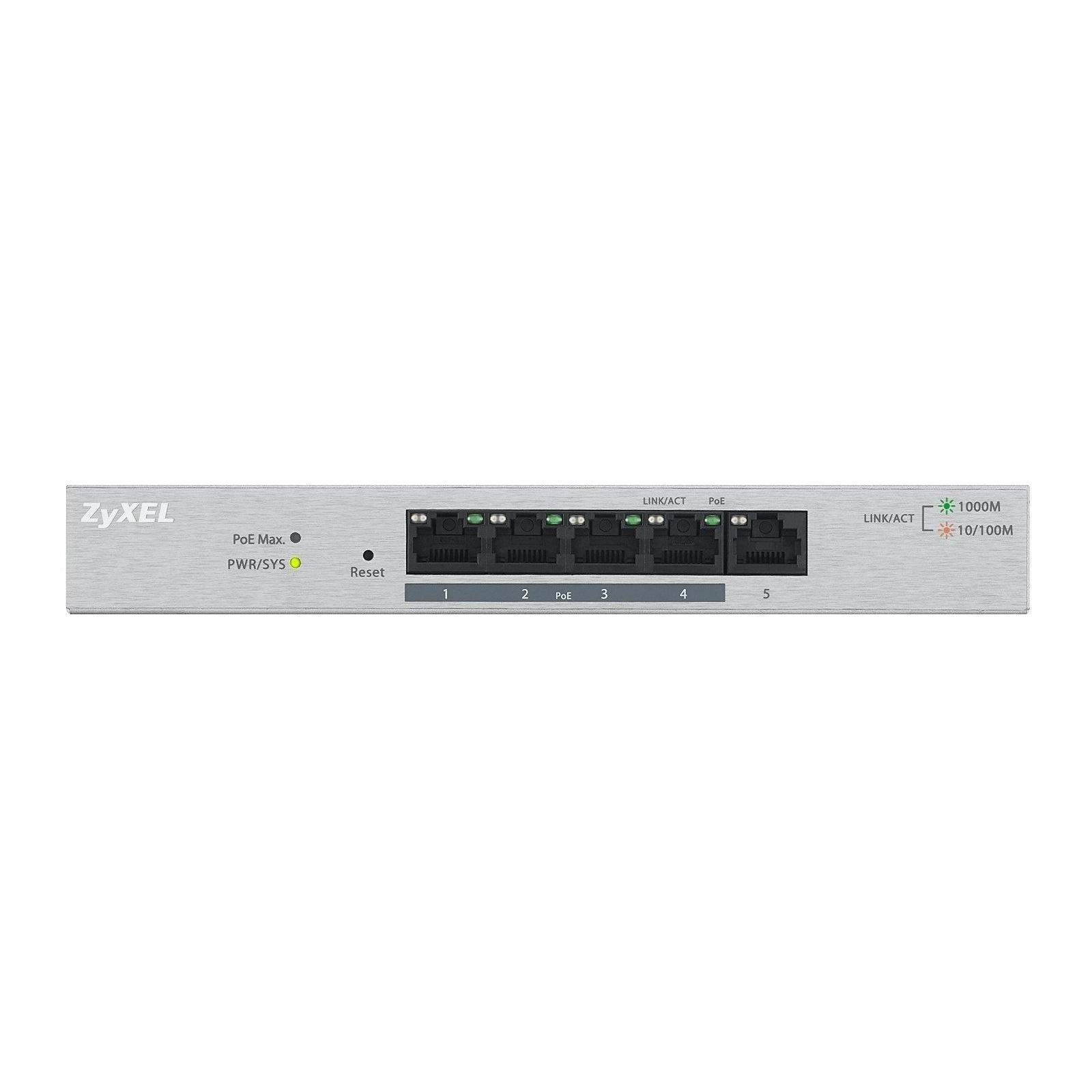 Коммутатор сетевой ZyXel GS1200-5HP (GS1200-5HP-EU0101F) изображение 2
