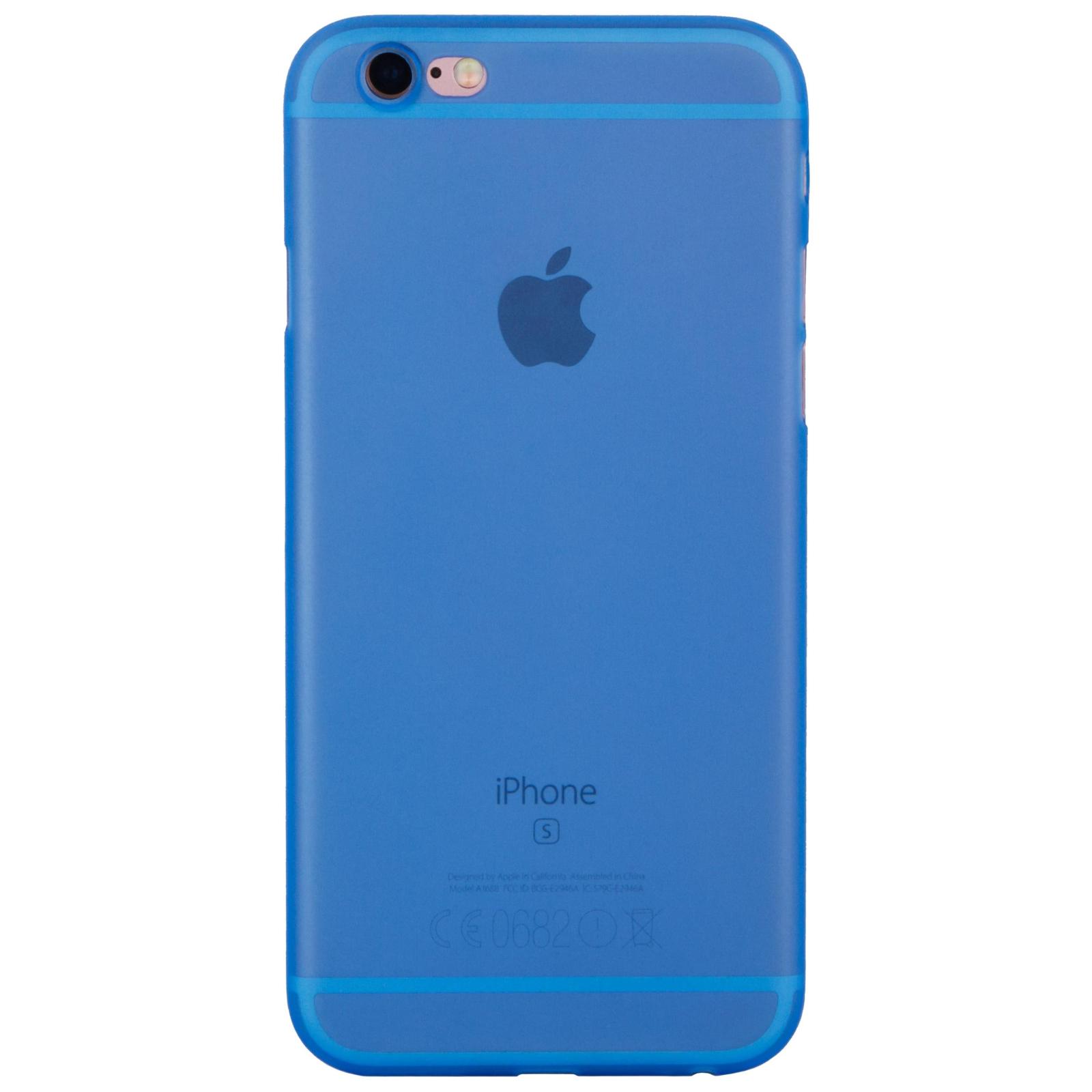 Чехол для моб. телефона MakeFuture Ice Case (PP) для Apple iPhone 6 Blue (MCI-AI6BL)