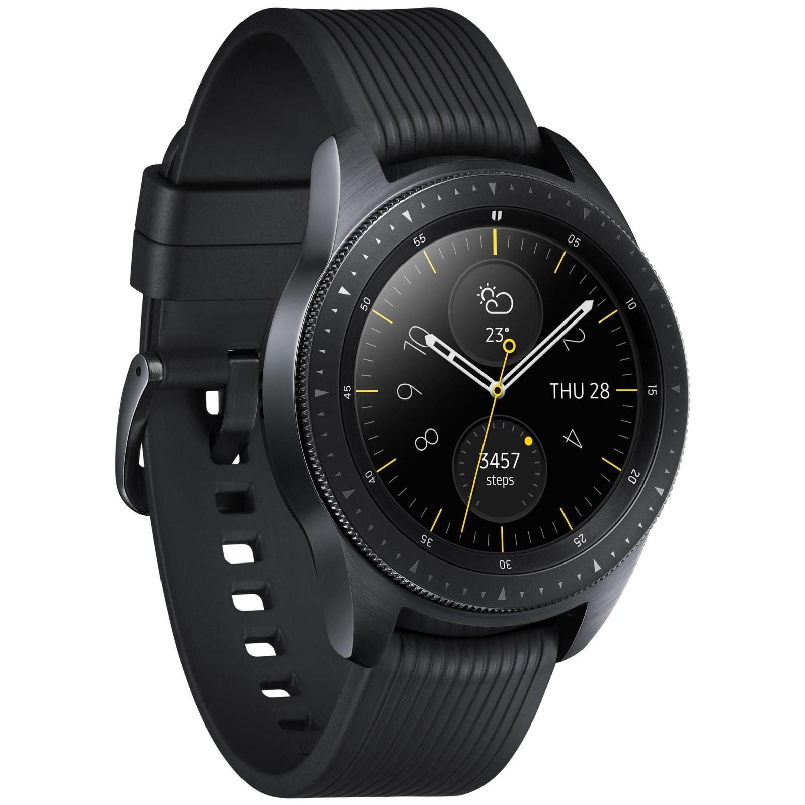 Смарт-часы Samsung SM-R810 Galaxy Watch 42mm Black (SM-R810NZKASEK) изображение 2