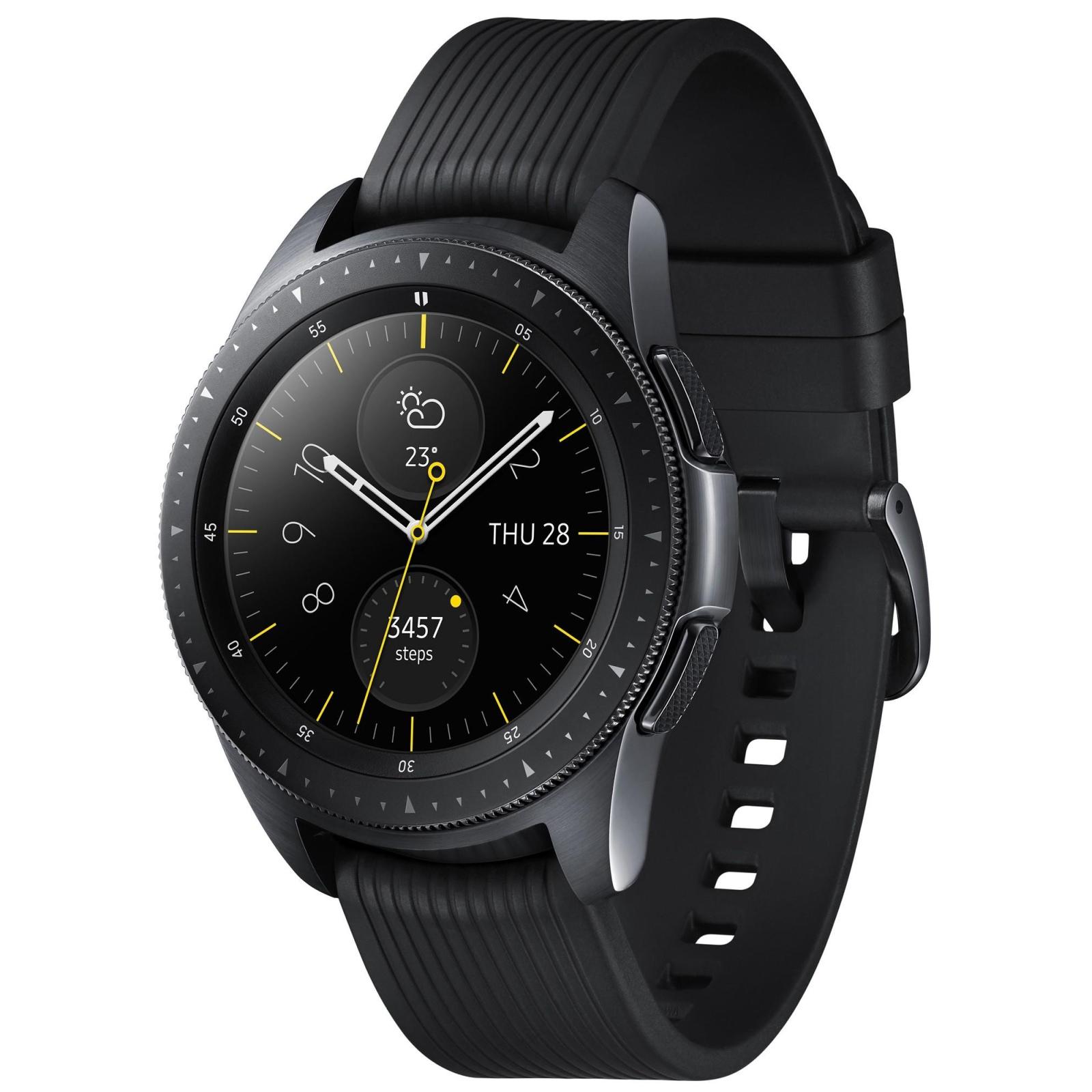 Смарт-часы Samsung SM-R810 Galaxy Watch 42mm Black (SM-R810NZKASEK) изображение 3