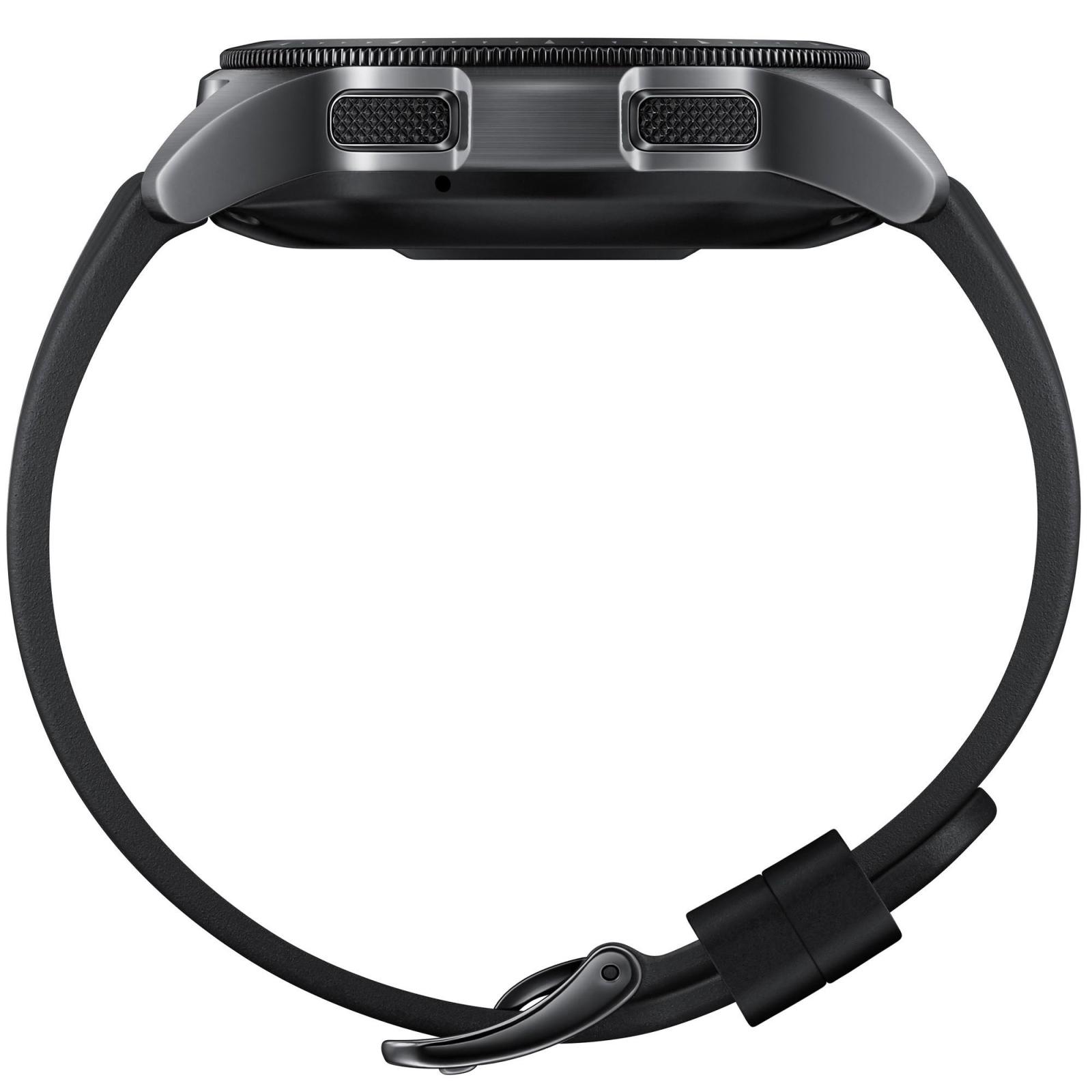 Смарт-часы Samsung SM-R810 Galaxy Watch 42mm Black (SM-R810NZKASEK) изображение 5