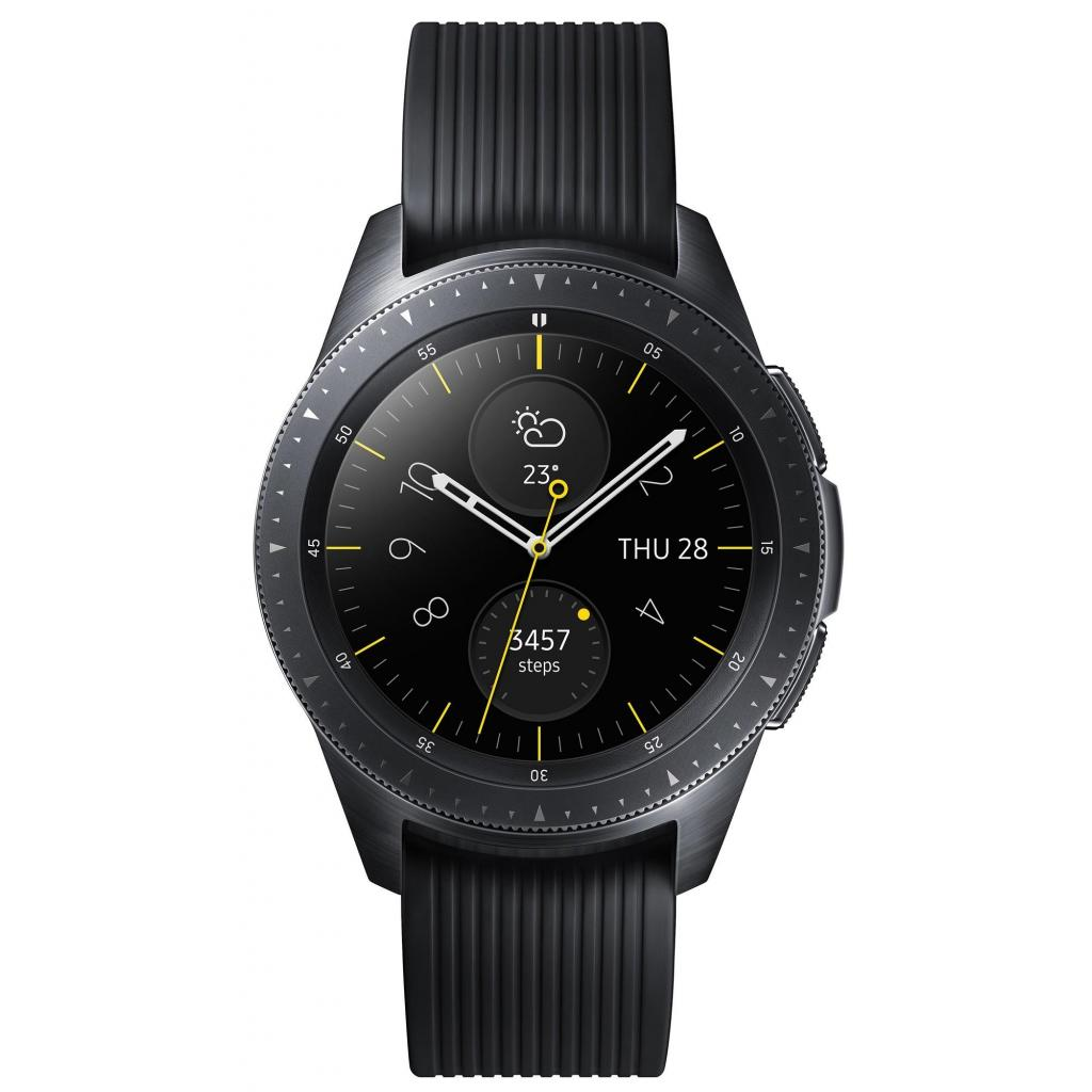 Смарт-часы Samsung SM-R810 Galaxy Watch 42mm Black (SM-R810NZKASEK)