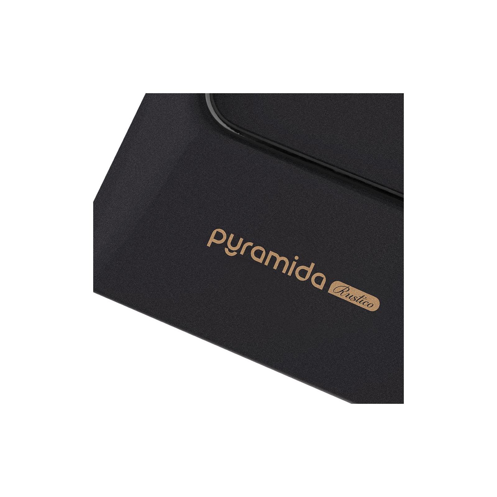 Варочная поверхность PYRAMIDA PFE 644 BLACK RUSTICO изображение 4