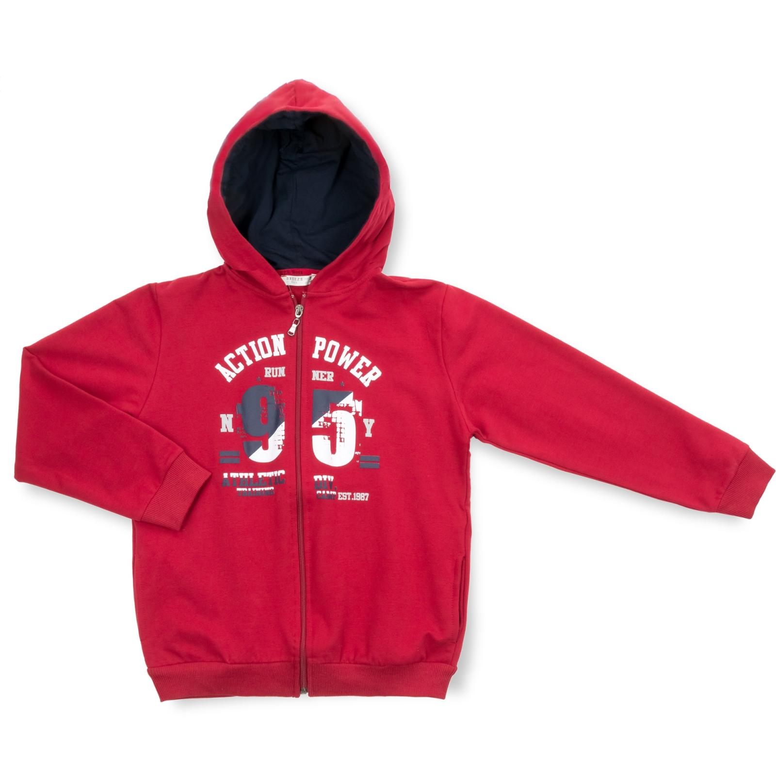 """Спортивный костюм Breeze """"95"""" (13196-140B-redblue) изображение 2"""