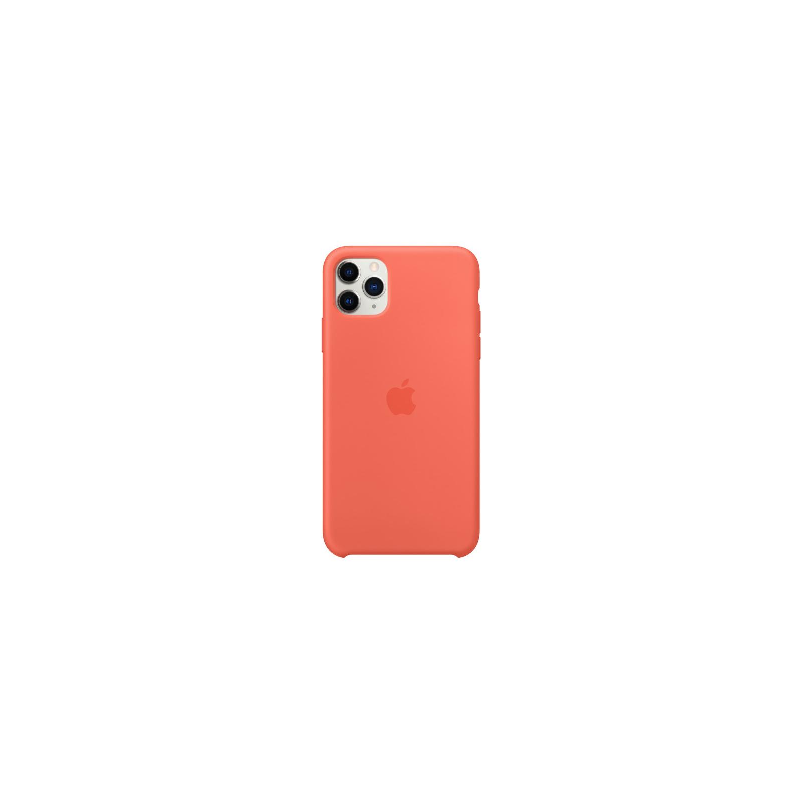 Чехол для моб. телефона Apple iPhone 11 Pro Max Silicone Case - Clementine (Orange) (MX022ZM/A) изображение 2
