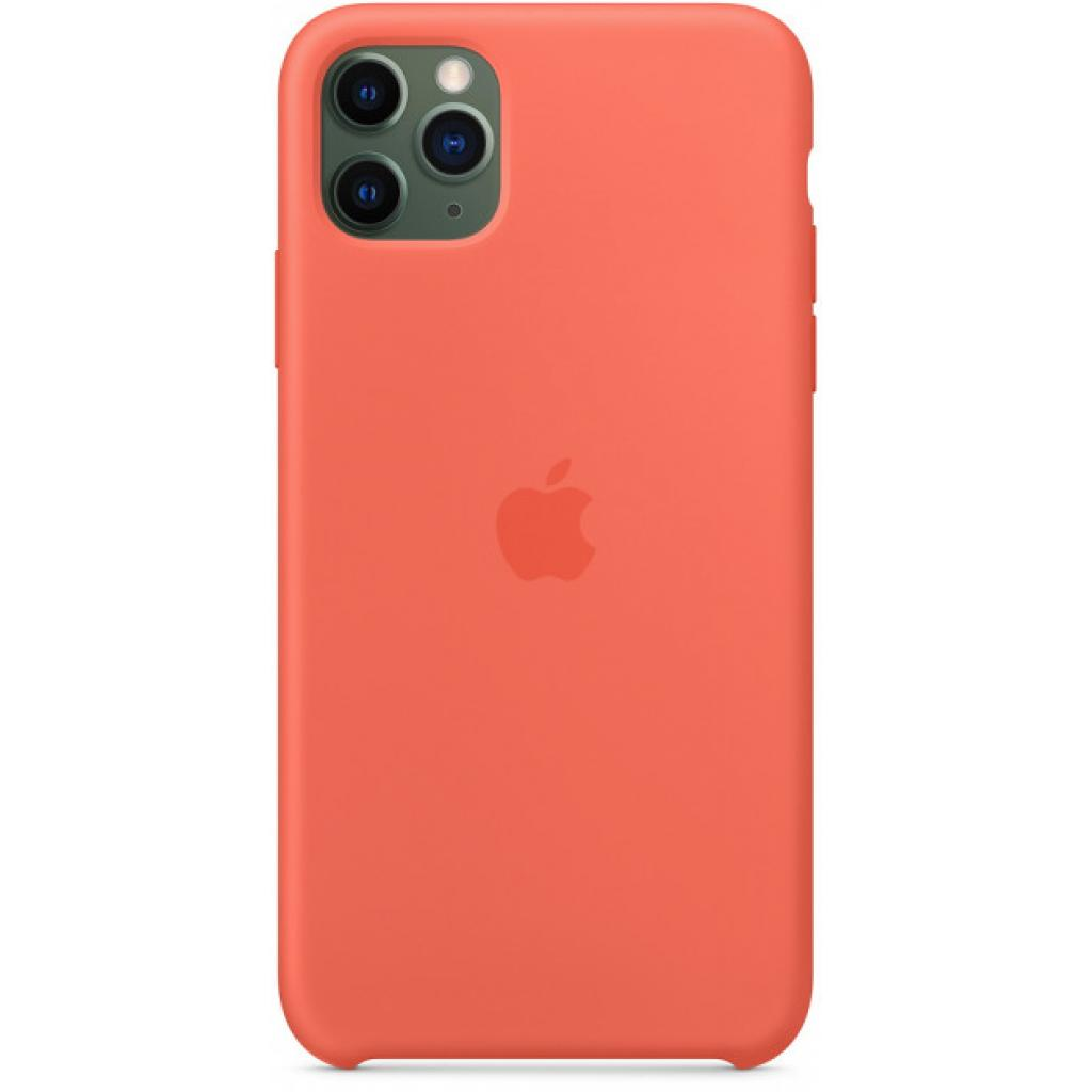 Чехол для моб. телефона Apple iPhone 11 Pro Max Silicone Case - Clementine (Orange) (MX022ZM/A) изображение 3
