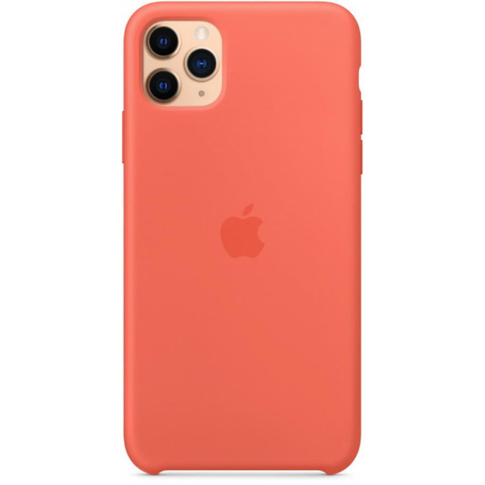 Чехол для моб. телефона Apple iPhone 11 Pro Max Silicone Case - Clementine (Orange) (MX022ZM/A) изображение 4