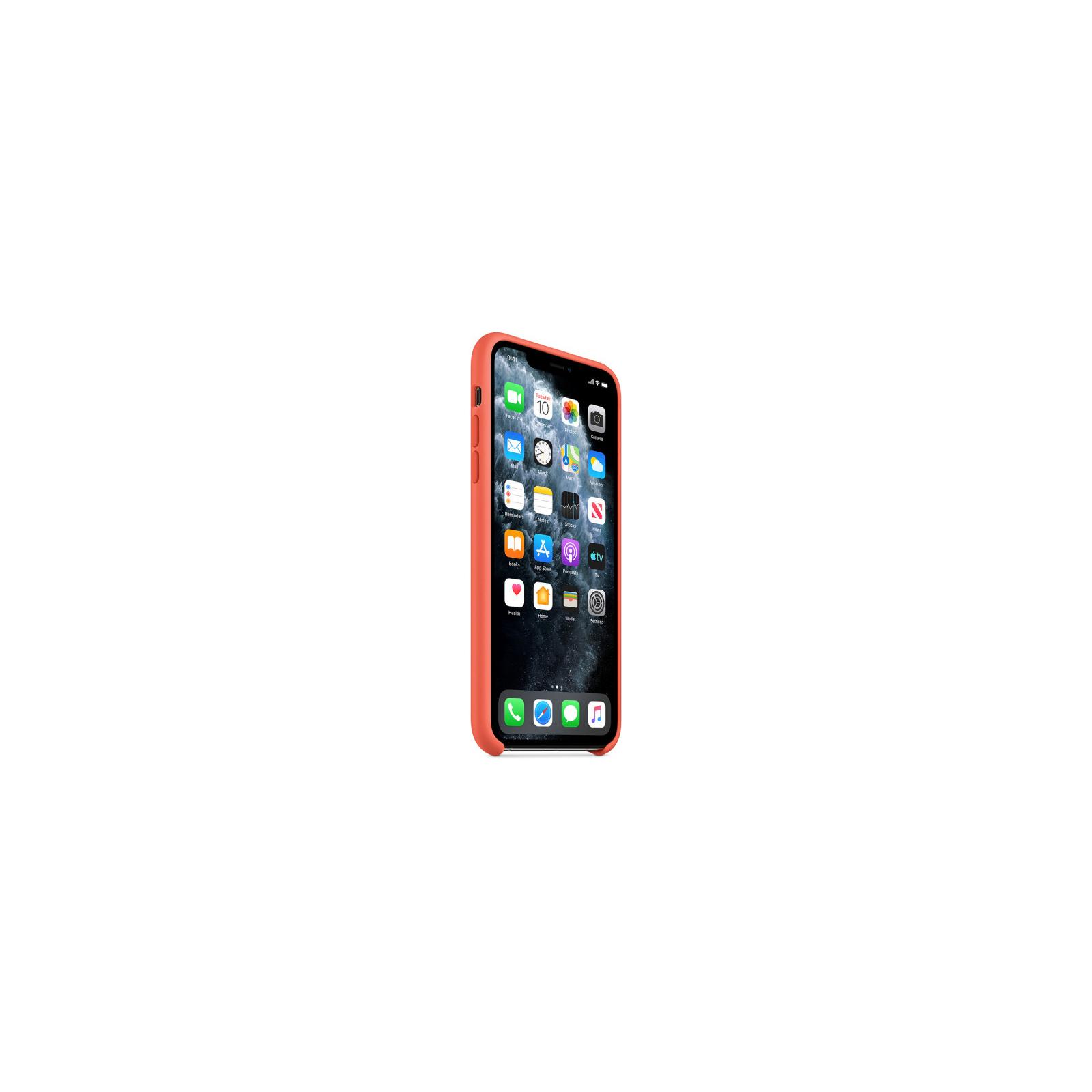 Чехол для моб. телефона Apple iPhone 11 Pro Max Silicone Case - Clementine (Orange) (MX022ZM/A) изображение 5