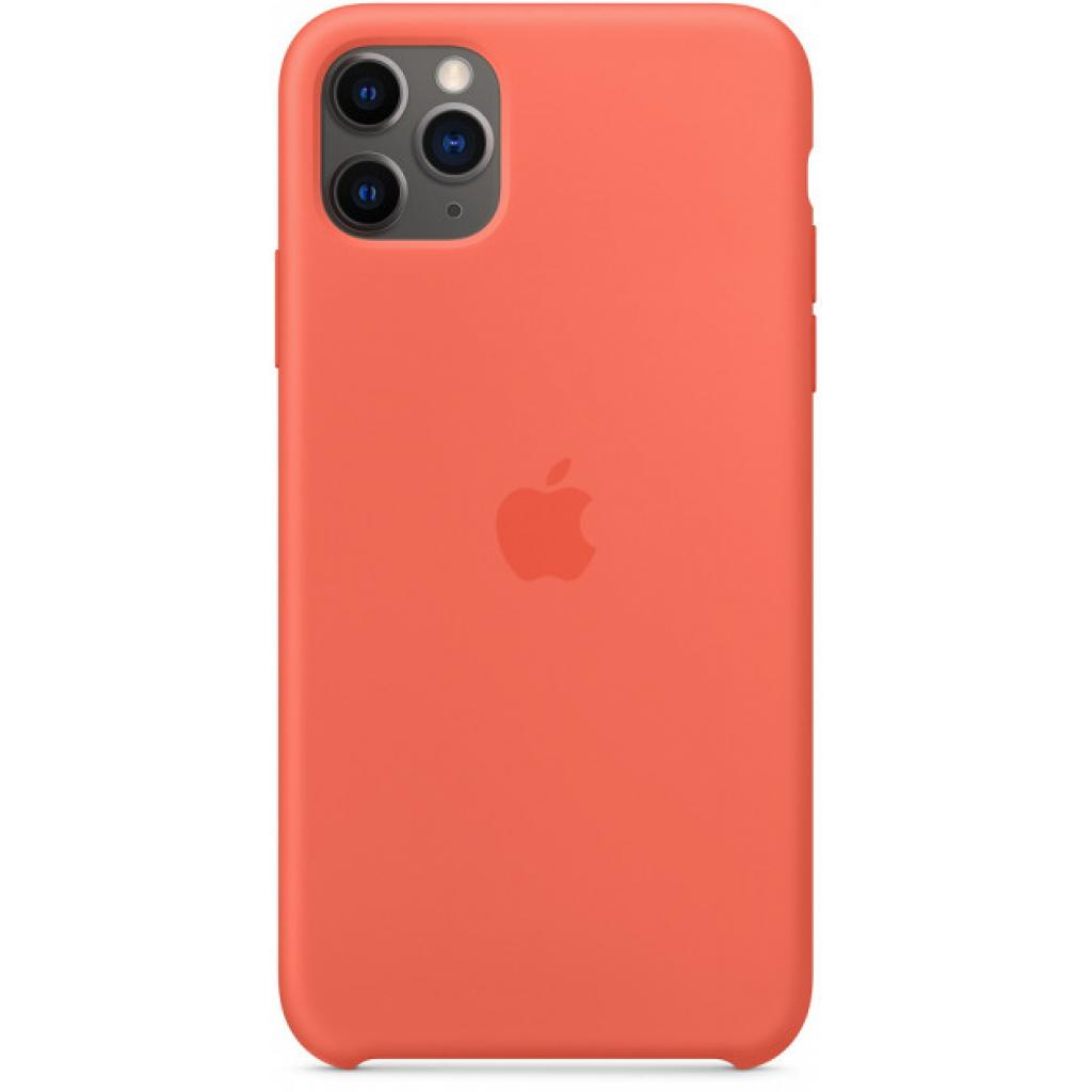 Чехол для моб. телефона Apple iPhone 11 Pro Max Silicone Case - Clementine (Orange) (MX022ZM/A)