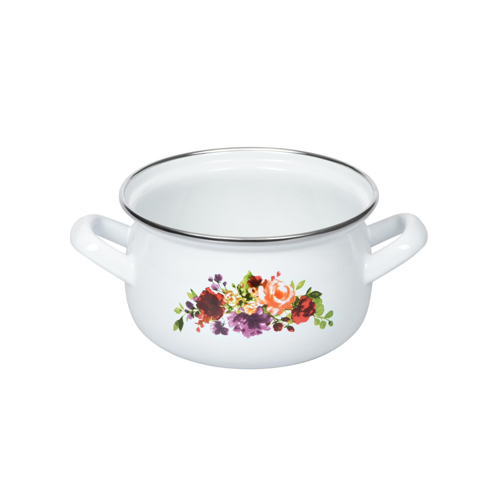 Кастрюля Ardesto Magic Flowers с крышкой 1,5 л (AR0115) изображение 2