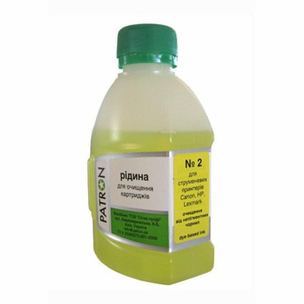 Чистящая жидкость PATRON №2 ДЛЯ CANON/HP/LEXMARK Водор.180г (CS-PN-F5-019-2-180)