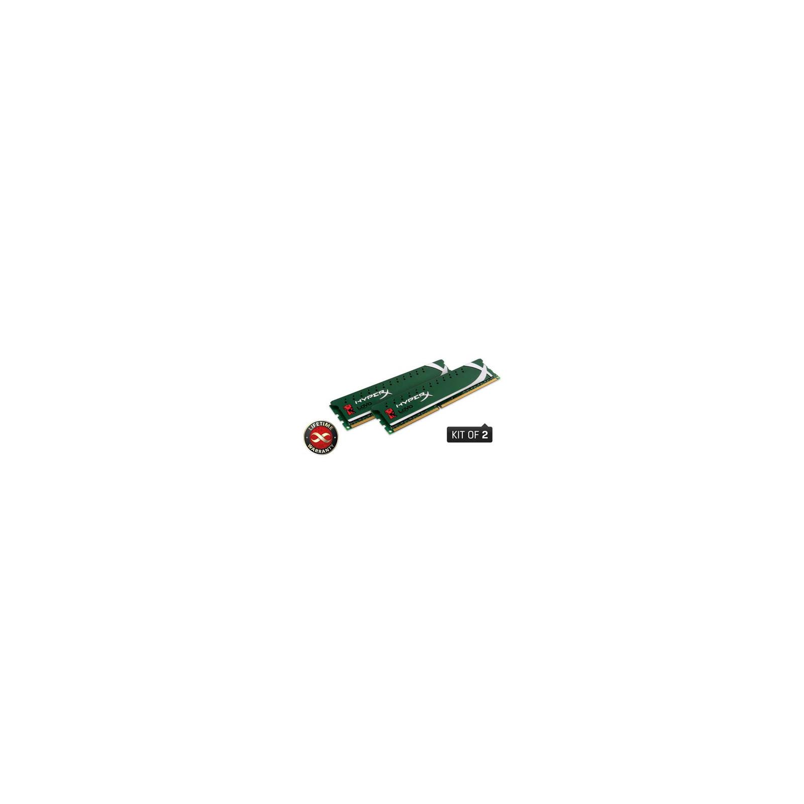 Модуль памяти для компьютера DDR3 4GB (2x2GB) 1600 MHz Kingston (KHX1600C9D3LK2/4GX)