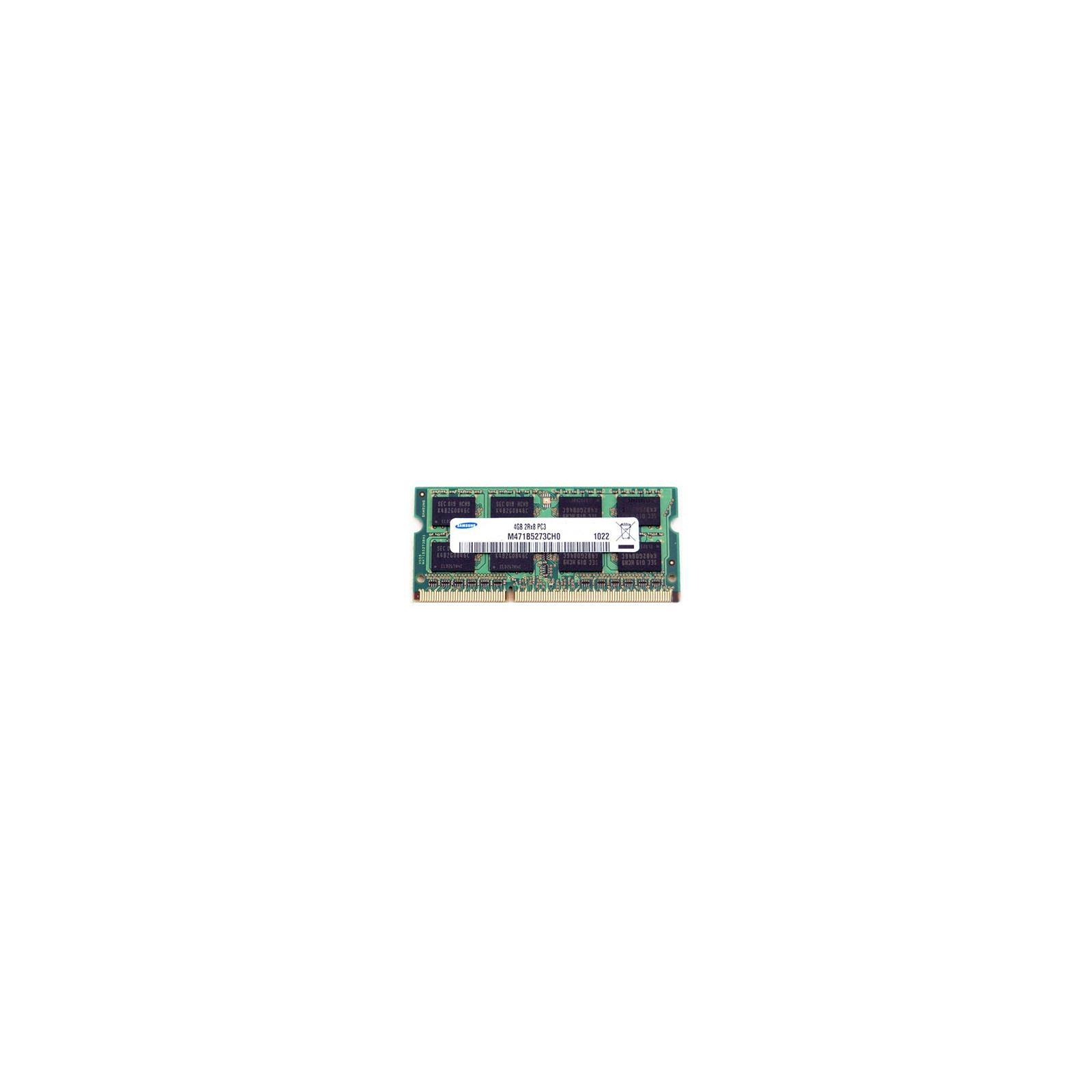 Модуль памяти для ноутбука SoDIMM DDR3 4GB 1600 MHz Samsung (M471B5173QH0-YK0 / M471B5273DM0-CK0)