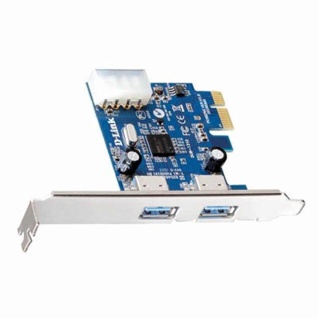 Контроллер PCIe to USB D-Link (DUB-1310)