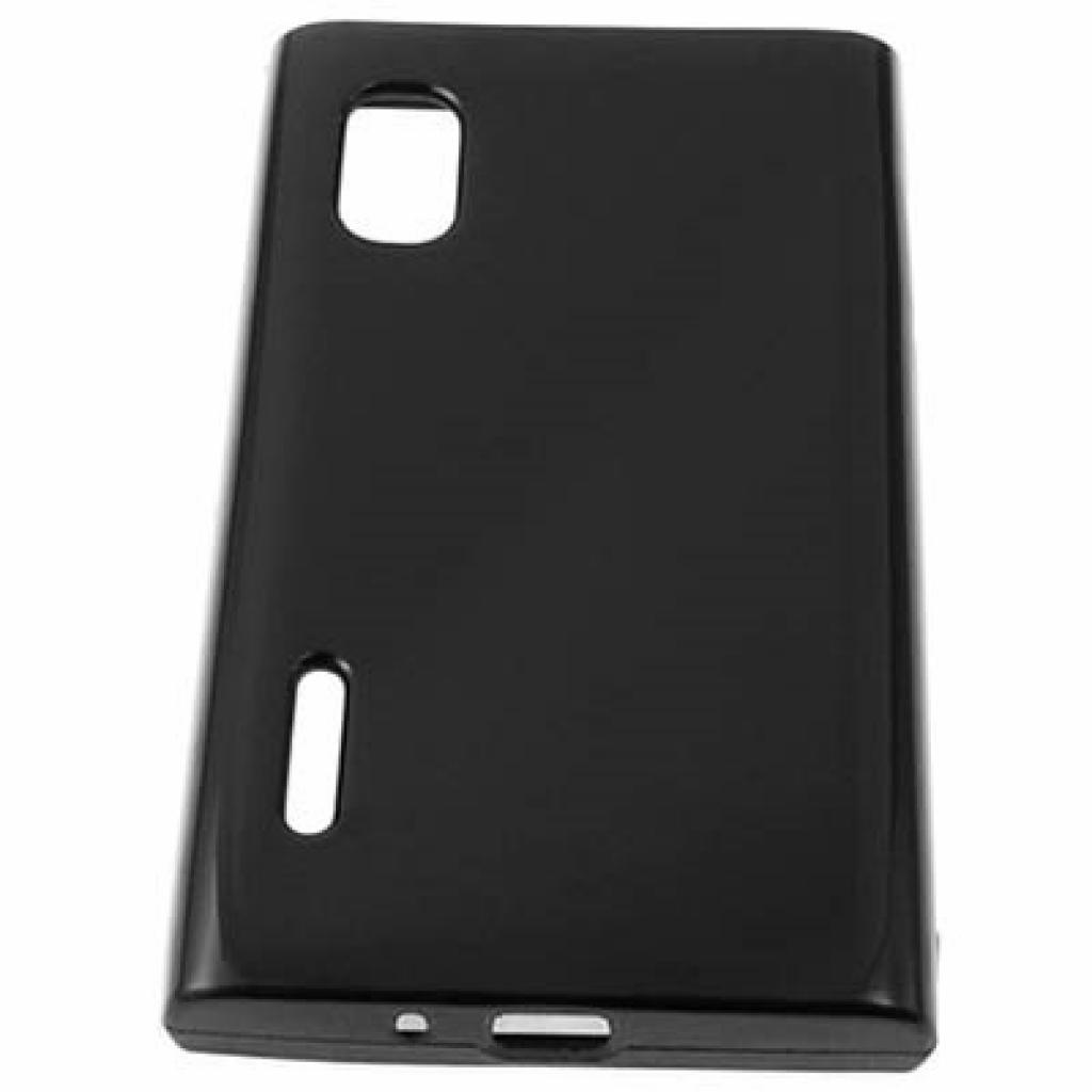 Чехол для моб. телефона Drobak для LG Optimus L5 Dual E615 /Elastic PU (211522)