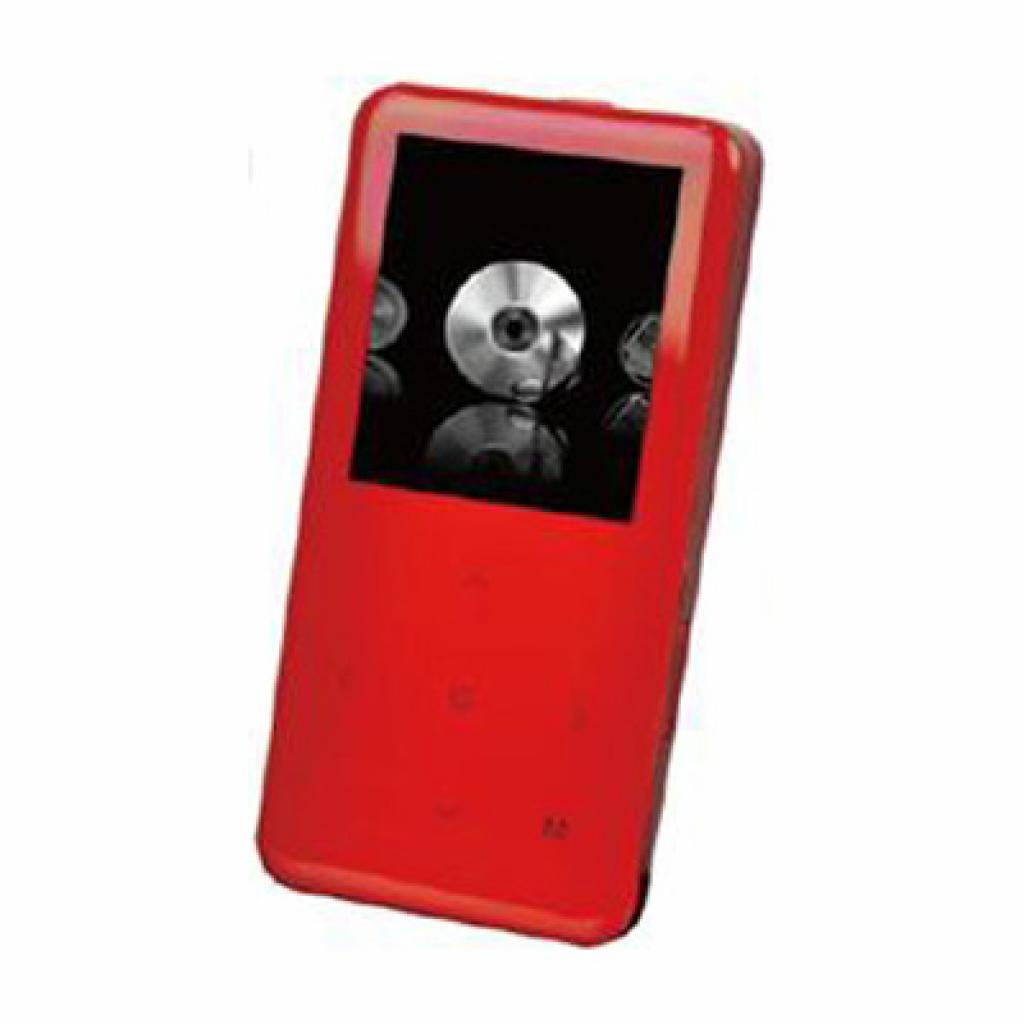 mp3 плеер Ergo Zen Wave 4GB Red