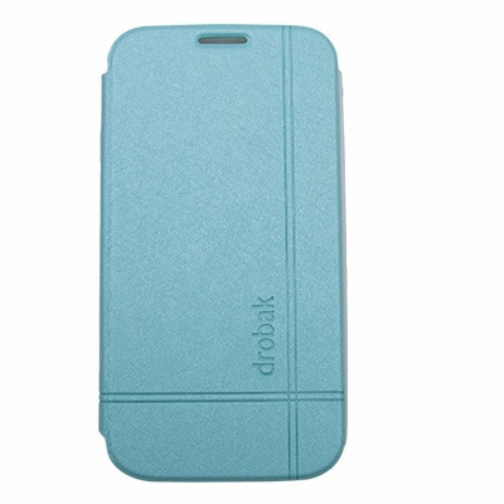 Чехол для моб. телефона Drobak для Samsung I9500 Galaxy S4 /Simple Style/Blue (215287)